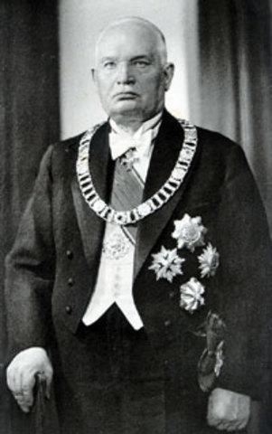 Presitent Konstantin Päts