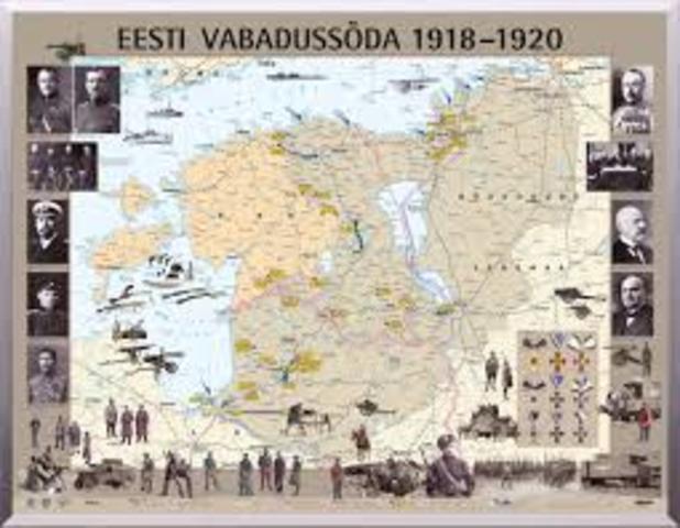 Eesti Vabadussõda.