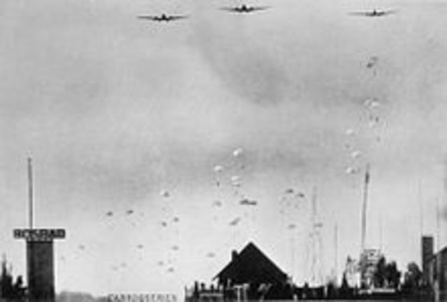 German Army invades Netherlands