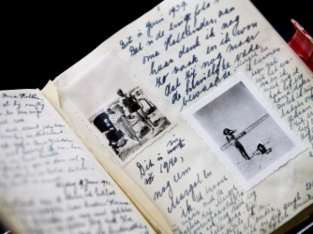 Anne Frank gets diary for her 13th birthday