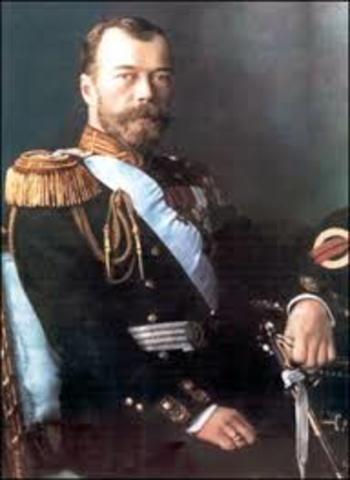 Nicolas II Abdicates the throne