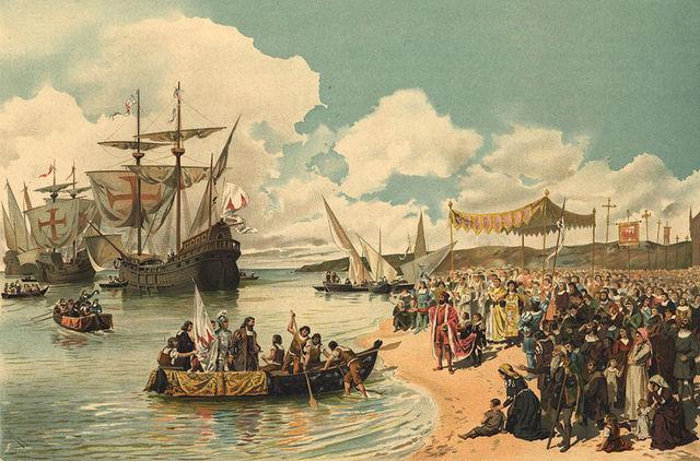 Vasco da Gama enters Indian ocean and reaches India