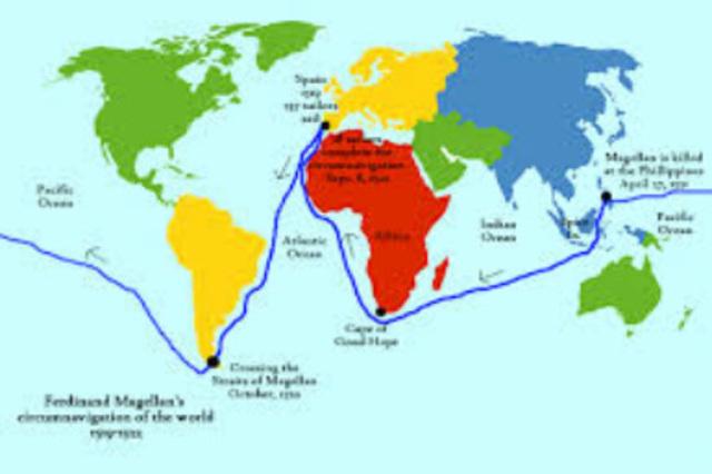 Magellan's Voyage (first circumnavigation of the globe)