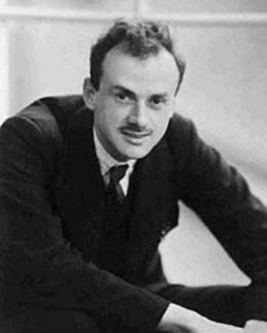 Nacimiento de Paul Dirac