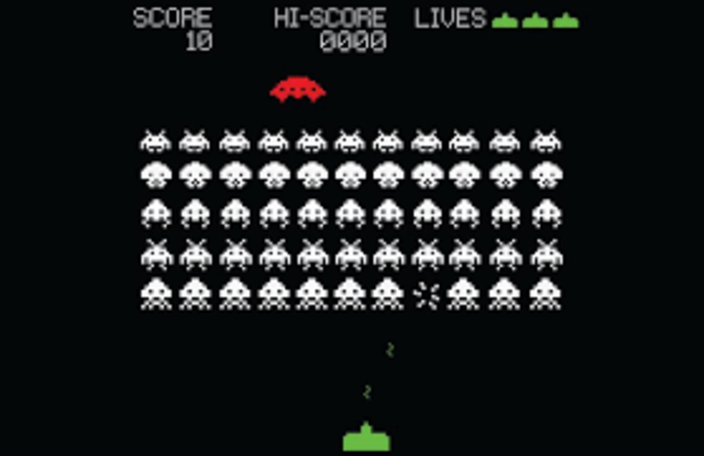 Taito's Space Invaders