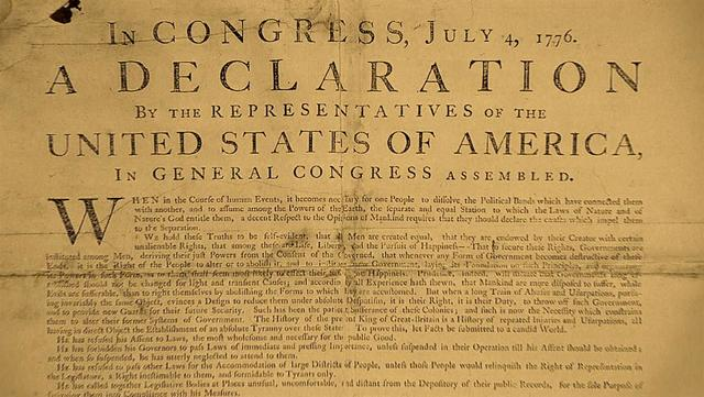 American Decleration of Independance