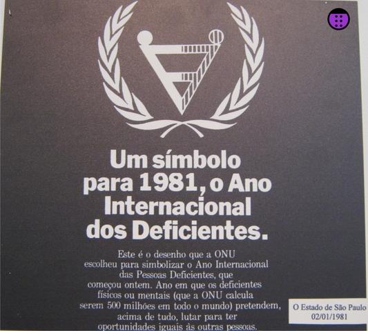 Ano Internacional das Pessoas Deficientes