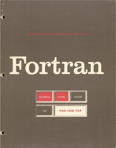 FORTRAN I