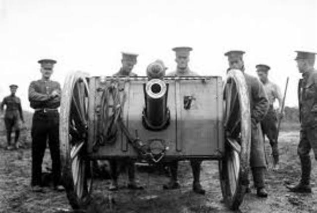 PRIMERA GUERRA MUNDIAL: 1914 - 1918