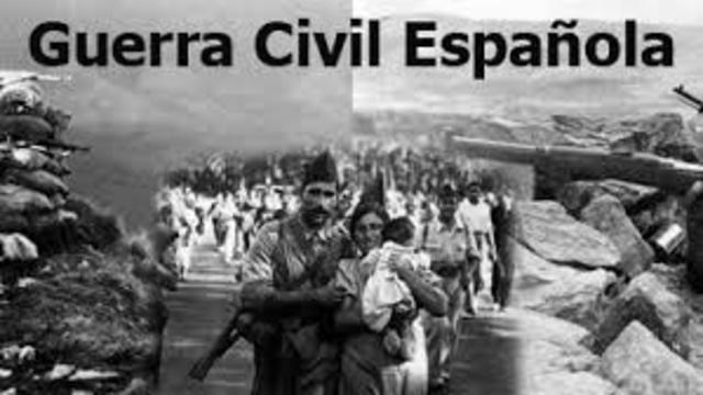 GUERRA CIVIL ESPANYOLA: 1936 -1939