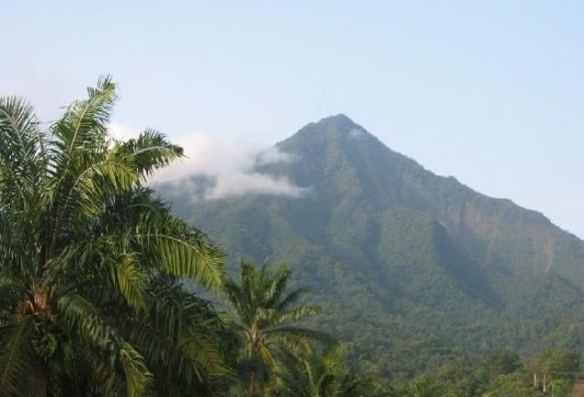 Mount Cameroon in Limbe