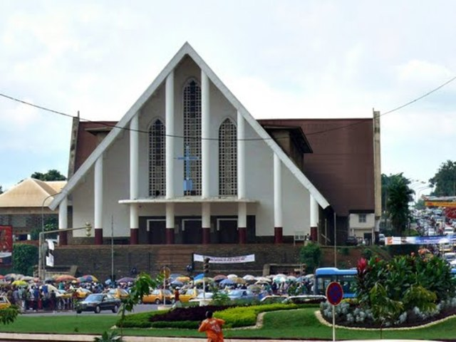 The Nôtre Dame Cathedral in Yaounde