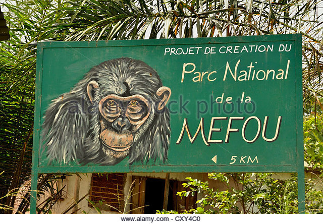 The Mefou National Park in Yaounde
