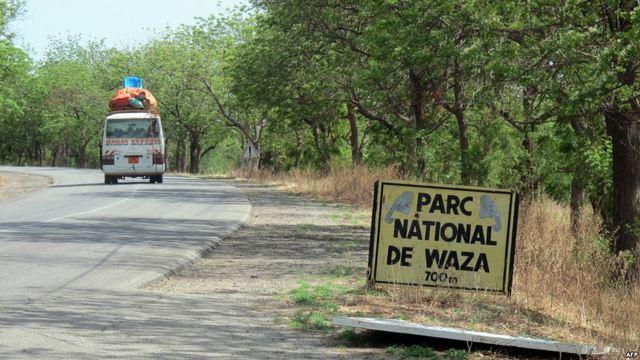 The Waza National Park in Maroua.
