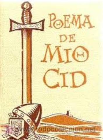 Composición del Poema del Mío Cid.