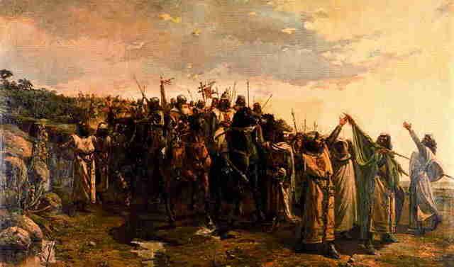 Batalla de Navas de Tolosa.