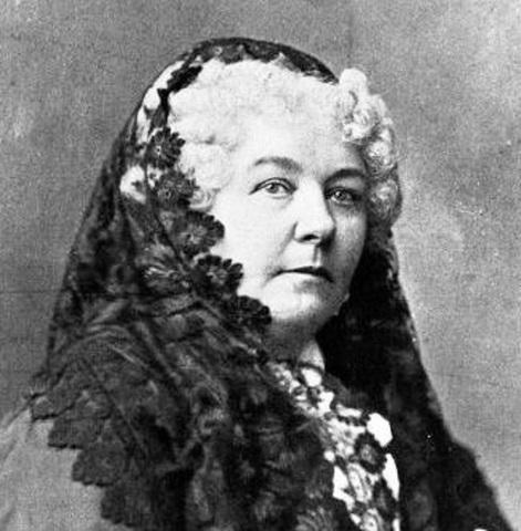 Elizabeth Cady Stanton - 1848