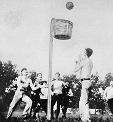 Nacimiento de Baloncesto.