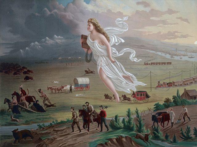 Manifest Destiny - 1845