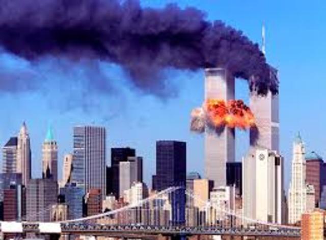ATEMPTAT CONTRA LES TORRES BESSONES A NOVA YORK:2001