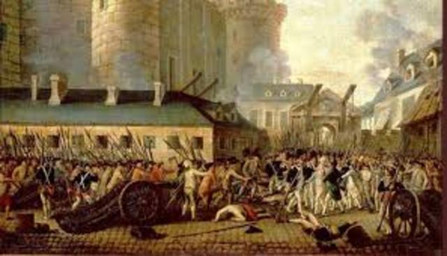 PRESA DE LA BASTILLA: 1789