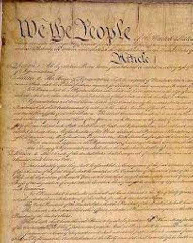 CONSTITUCIÒ DE NORD-AMERICA: 1787