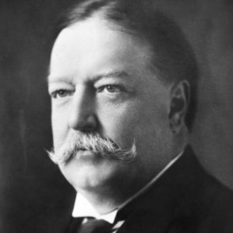 William Howard Taft Elected President