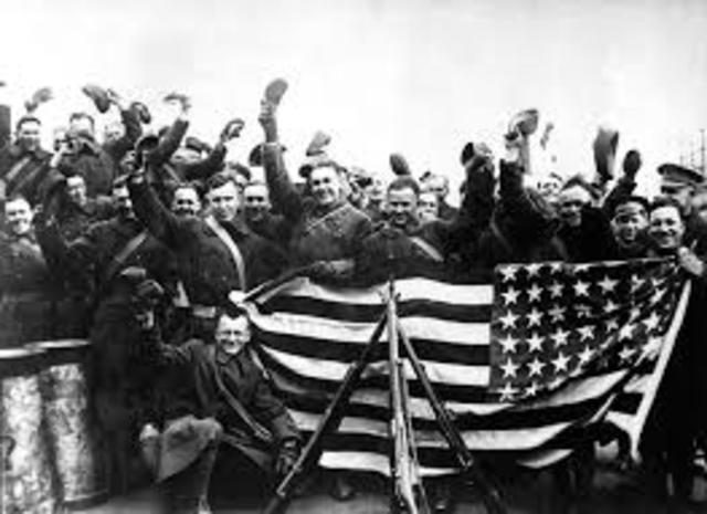 US Enters Word War I