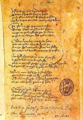 López de Ayala escribe el rimado de palacio