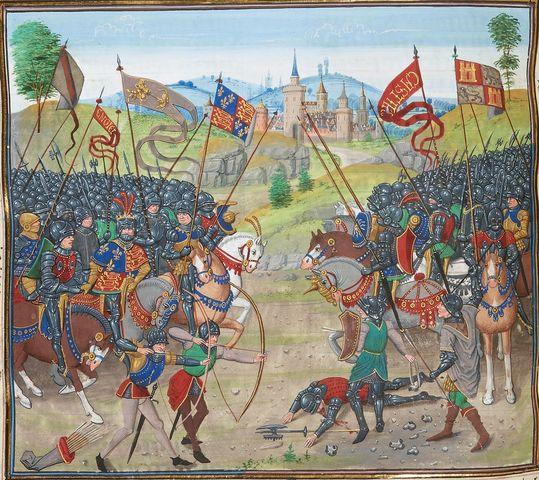 Guerras entre Castilla y Aragón.