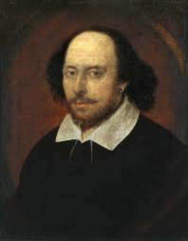 Shakespeare escribe Hamlet.