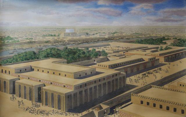 """Ingeniería Mesopotamica """" La tierra entre los ríos """""""