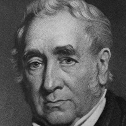 George Stephenson a sus 30 años creo su primera locomotora de vapor, para que empleara la locomotora a vapor en vez de caballos.