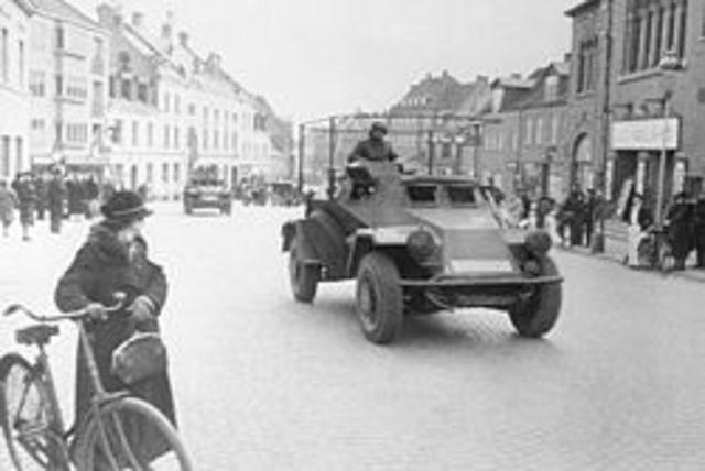 Germans invade Denmark in Norway