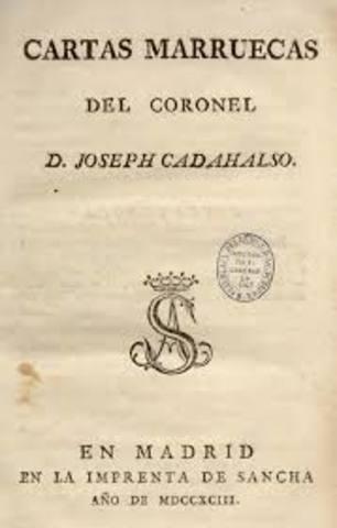 Se publican postumámente las Cartas Marruecas de Cadalso.