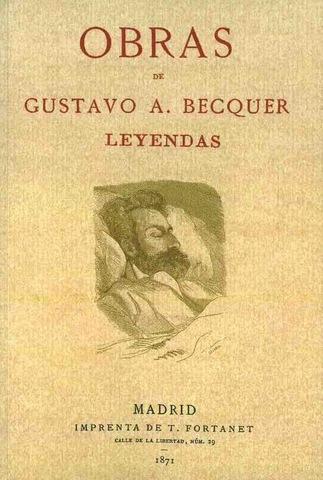 Bécquer publica su primera leyenda.