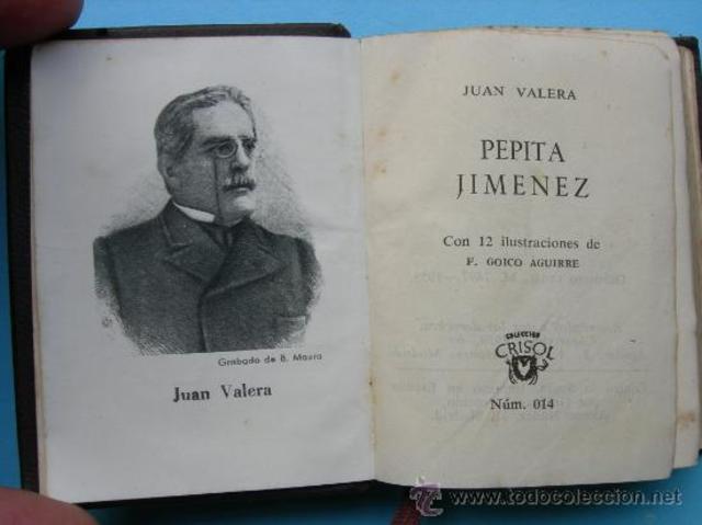 """Juan Valera publica """"Pepita Jiménez"""""""