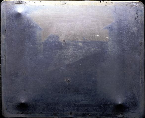 Joseph Nicéphore Niépce (view from the window).
