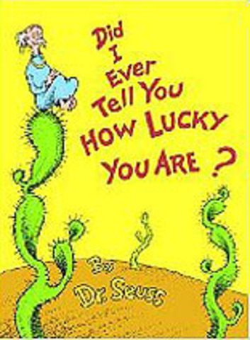 Did I Ever Tell You How Lucky You Are? Published