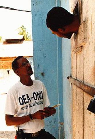 La Misión Civil Internacional de la OEA/ONU en Haití