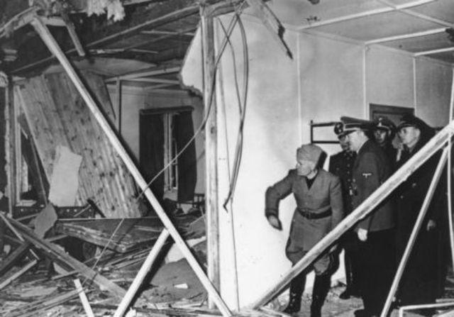 Failed bomb attack