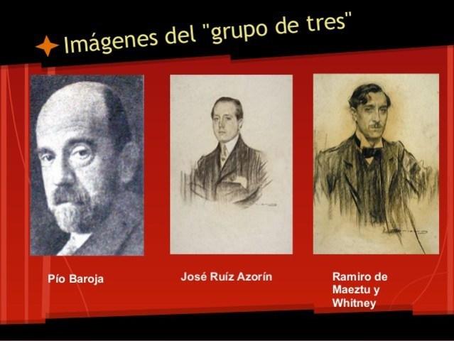 """Azorín, Baroja y Maextu redactan """"El Manifiesto"""""""