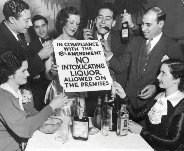 Prohibition- Speakeasy