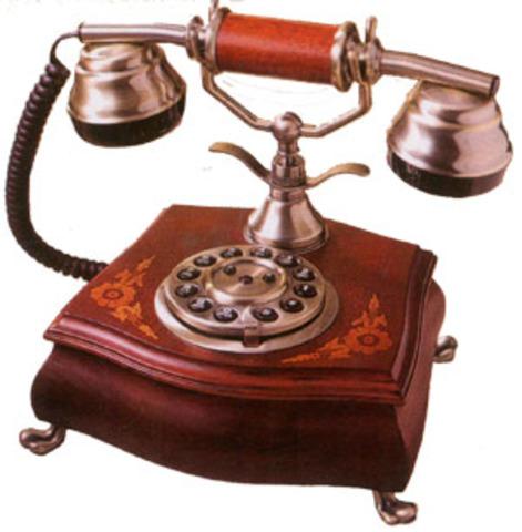 El teléfono fijo