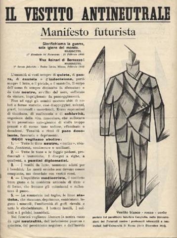 """Filippo T. Marinetti publica """"El Manifiesto Futurista"""""""