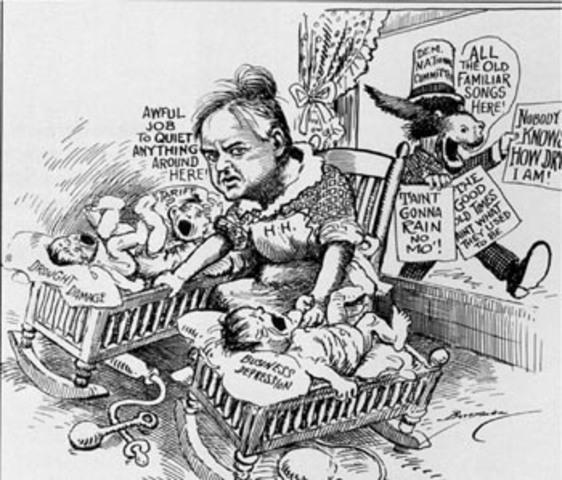 Herbert Hoover's Policies- Reconstruction Finance Corporation