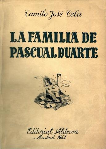 """Cela publica """"La familia de Pascual Duarte"""""""