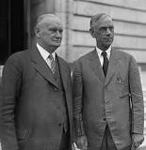 Herbert Hoover's Policies- Hawley-Smoot Tariff