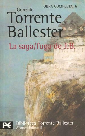 """Gonzalo Torrente Ballester publica """"La Saga/ fuga de J.B,"""""""