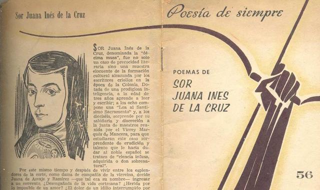 """Sor Juana Inés de la Cruz escribe la poesía """"El Sueño"""""""